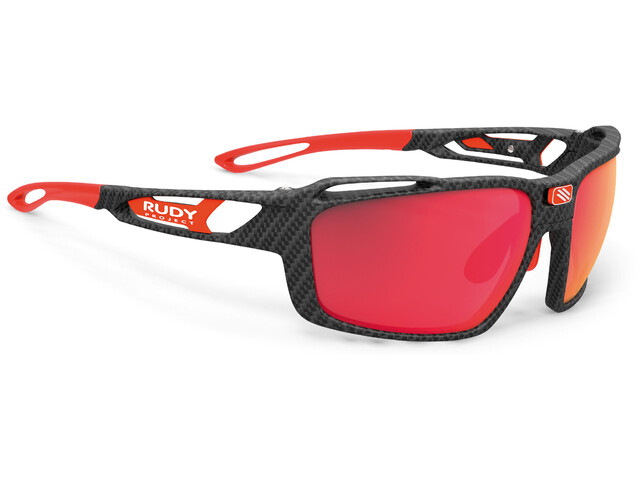 Rudy Project Sintryx Okulary rowerowe, carbonium - polar 3fx hdr multilaser red